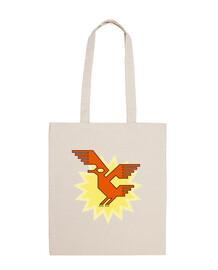 motivo suramericano ave nativa cóndor