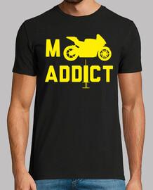 Moto, adictos, logo, ktm, honda, yamaha, camiseta, original, enduro, mx, motocros, bike