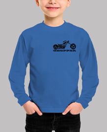 MOTO CHOPPER LETRAS