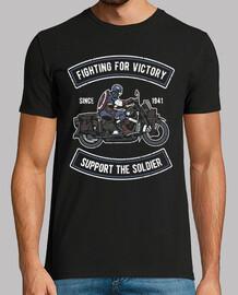 moto custom Ameri can gagner