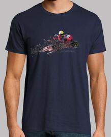 Moto de Carreras / Motorista / Piloto