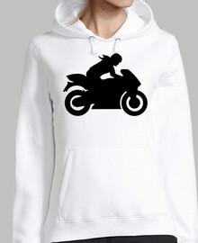 moto femme fille