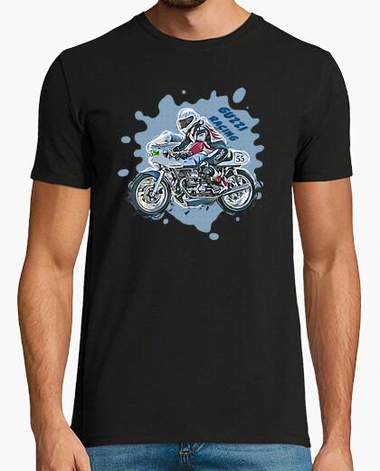 Camiseta moto guzzi