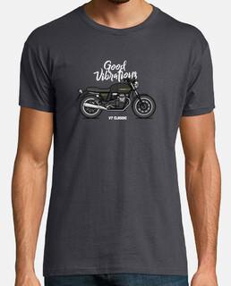 Moto Guzzi v7 c les noir sic