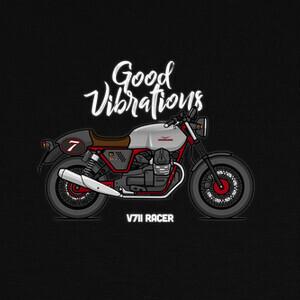 Camisetas Moto Guzzi V7II Racer