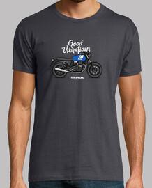 moto guzzi v7ii special blue