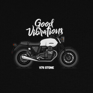 Camisetas Moto Guzzi V7II Stone White