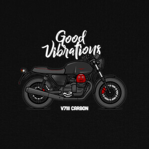 Camisetas Moto Guzzi V7III Carbon