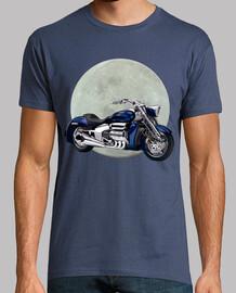 Moto y luna