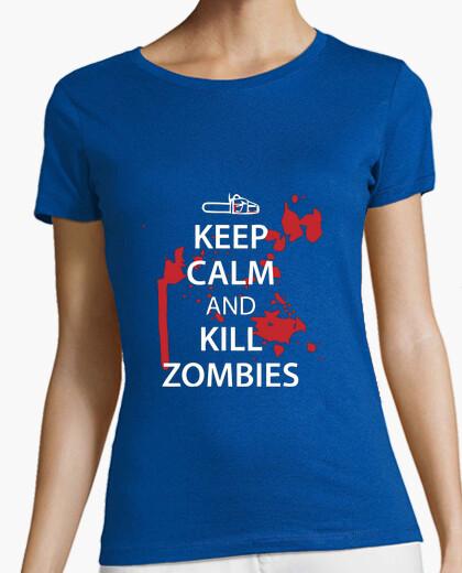 Tee-shirt Moto Zombies