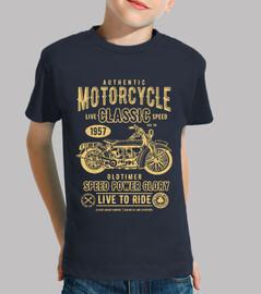 motocicleta clásica