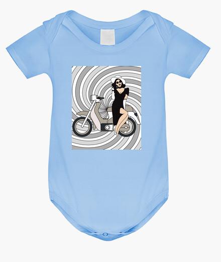 Ropa infantil motocicleta retro de...