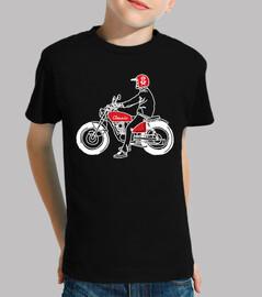 motociclista classico