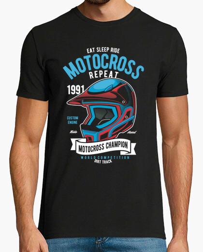 Camiseta Motocross Champion