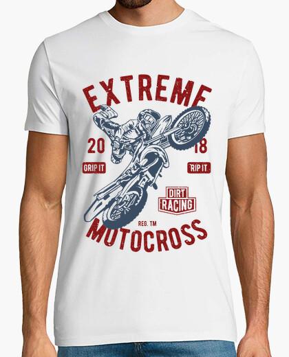 Camiseta motocross extremo