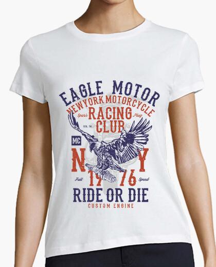 Camiseta motor de águila