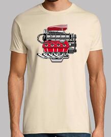 Motor De Coche V8 Turbo