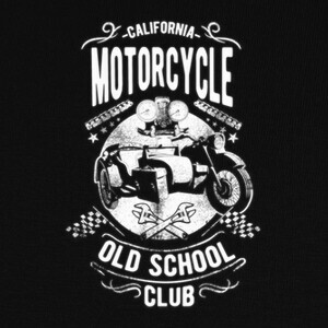 Motorcycle Old School T-shirts