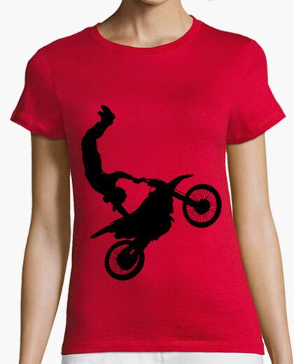 Camiseta Motorista acrobacias