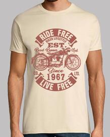 Motorradfahrer seit 1967