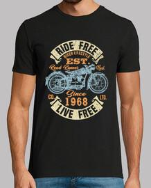 Motorradfahrer seit 1968