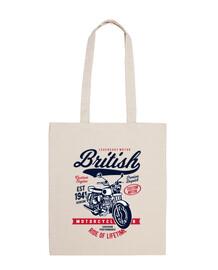 motos britanniques rétro motards vintage motos garage