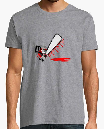 Motosierra sangrienta camiseta modifique para requisitos particulares