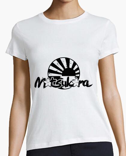 Camiseta MoTsuKora - BLACK LOGO [CHICA]
