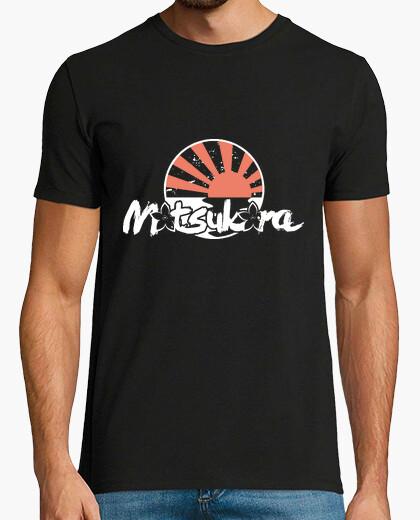 Motsukora - rising sun white guy t-shirt