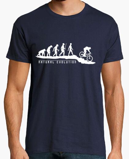 T-shirt mountainbike naturale evoluzione