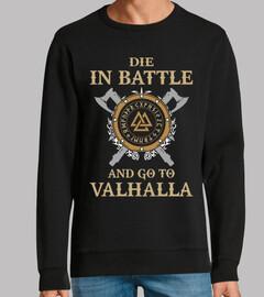 mourir dans la bataille  (vikings)