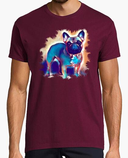 Tee-shirt mousse de bouledogue français