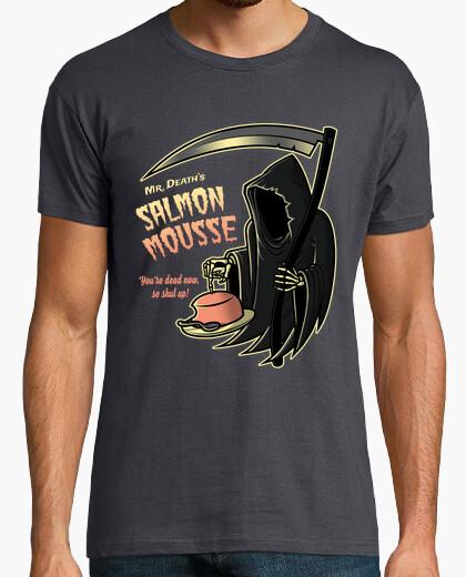Camiseta mousse de salmón mens / monty python / mens