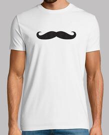 moustache hommes hipster