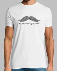 moustache psychédélique