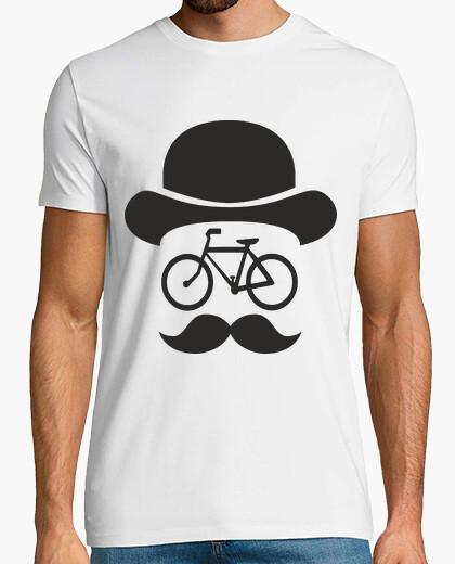 Tee-shirt movember vélo noir