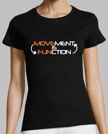 Movement is Function logo espalda CHICA