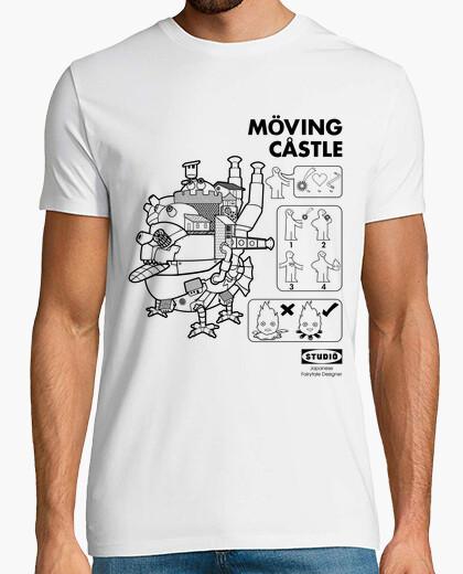 Camiseta moving castle
