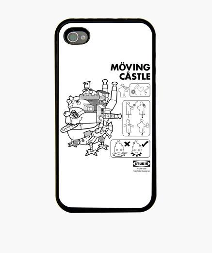 Coque iPhone moving castle