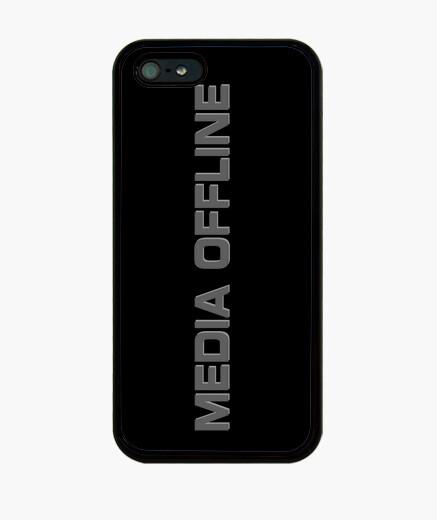 Coque iPhone moyenne déconnecté