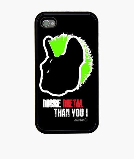 Coque iPhone mpf - plus de métal que vous! iphone 4 / 4s.