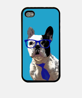 mpf - oreo hipster (blu). iphone 4 / 4s.