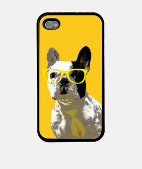 mpf - oreo hipster (giallo). iphone 4 / 4s.