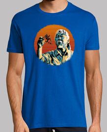 mr. miyagi & marty mcfly t-shirt