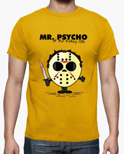 Mr. Psycho Jason Friday the 13th Adults Tee