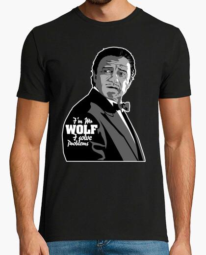 Camiseta Mr Wolf (pulp fiction) (ENG)
