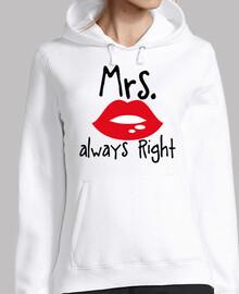 Mrs. Always Right
