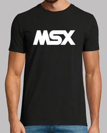 MSX Logo Blanco