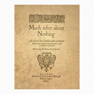 Camisetas Much Ado About Nothing (canvas)