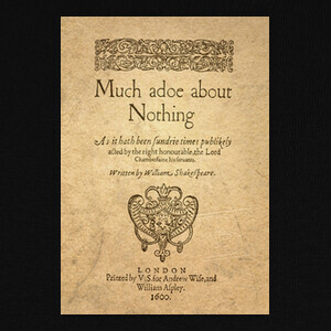Camisetas Much Ado About Nothing (prints)